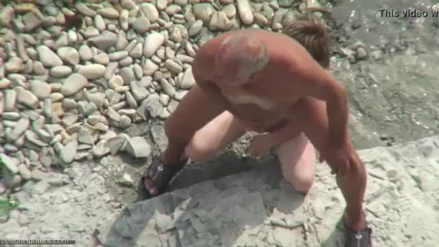 Hard fuck in the ass girl on the beach xxx